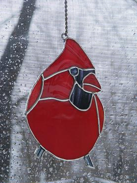 Atelier de vitrail voileevasion for Fenetre a cardinal